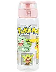 Pokemon Pikachu Character's Girls Sports Plastic Water Drinks Bottle Cup