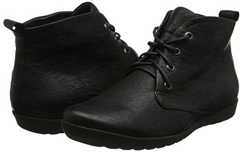 Anni Desert Think Noir 00 schwarz Boots Femme Bdcw4x