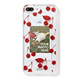 Sonix Cherry Photo Frame Cell Phone Case [Military Drop Test Certified] Protective Clear Polaroid Picture Case Series for Apple iPhone 6 Plus, iPhone 7 Plus, iPhone 8 Plus