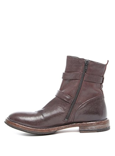 Moma 77603-C3 Damen Stiefel in Mittel Rot