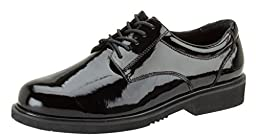 831-6031 Thorogood Men\'s Poromeric Academy Uniform Shoes - Black - 14.0 - XW