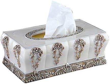 Xiaoyu Caja De Pañuelos, Caja De Almacenamiento De Servilletas para El Hogar del Hotel Caja De Pañuelo Dispensador De Toallas Dispensador De Toallas De Papel De Resina: Amazon.es: Hogar