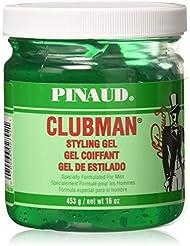 Pinaud Clubman Hair Styling Gel, Original - 16 Oz (Pack...