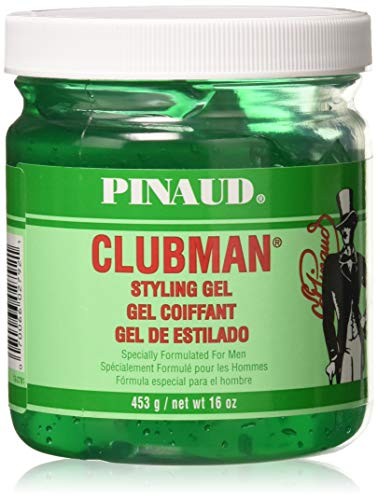 Pinaud Clubman Hair Styling Gel, Original - 16 Oz (Pack of 3)