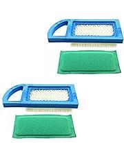 LUQIQI 2X Air Filter Fit for Briggs & Stratton 613022 650821 697152 698413 797007 794421 5079 4213 697292 4212 21A902 21B902 21B976 21A907