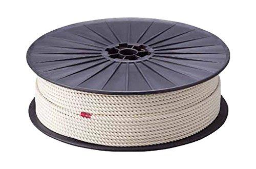 TRUSCO 綿ロープ 白 12mm×100m 3つ打タイプ R12100M B002A5OKI6
