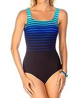Reebok Women's Sea To Shining Sea One-Piece Swimsuit
