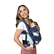 Tula Ergonomic Carrier - Blossom, Navy/Pink, Free To Grow