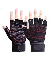 Gloves for athletes anti-slip- L size