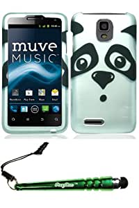 ZTE N8000 Engage LT Panda Case Cover Protector Include FoxyCase Stylus cas couverture