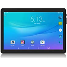 Tablet 10 inch 3G Phablet with Sim Card Slots and Dual Camera, Android Tablets 10.1