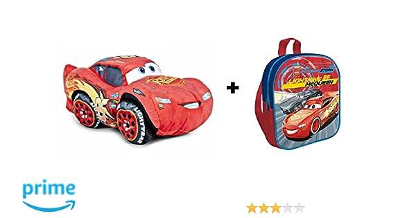 Cars 3 - Pack peluche Rayo McQueen 25 cm (Famosa 760015270 ...