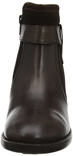 Marron Makayla Femme Bottines Brown Noir Brn Lotus Lth Leather I1fqn