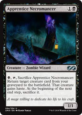 Magic: The Gathering - Apprentice Necromancer - Foil - Ultimate Masters - ()
