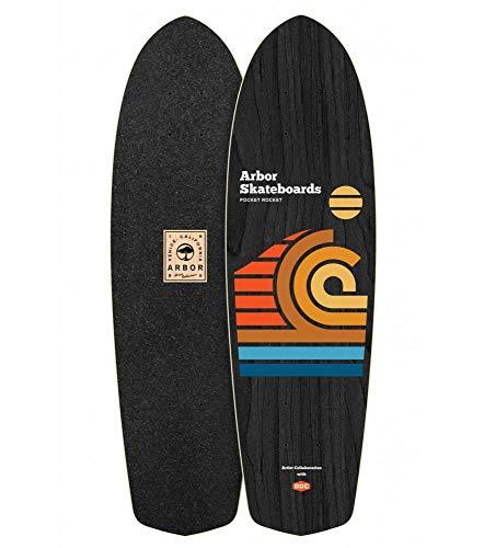 lordofbrands Skate Skateboard Longboard Arbor Deck Artist Draplin Pocket Rocket 27 ()