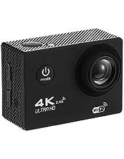 XZANTE 4K WiFi Action Camera 1080P HD 16Mp Cam Casco Impermeabile DV Telecomando Sport Video Dvr Nero