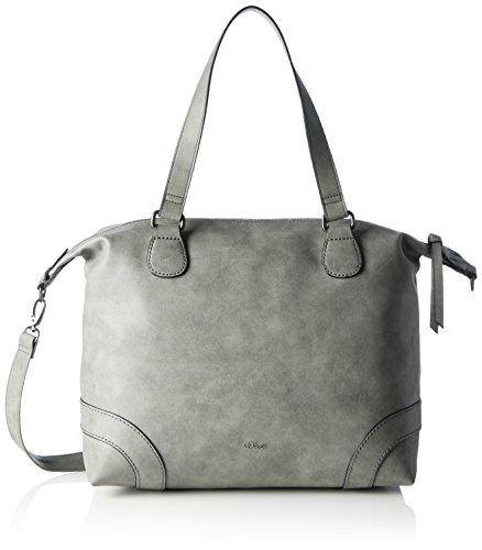 s.Oliver Shopper - Bolso de Mano Mujer Grau (Frost Grey)