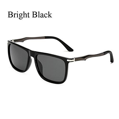 Plaza retro Gafas TL de sol sol gafas C1 polvoriento KP7037 polarizadas de Gafas de C4 KP7037 de Volver aluminio sol Sunglasses CqAw15q