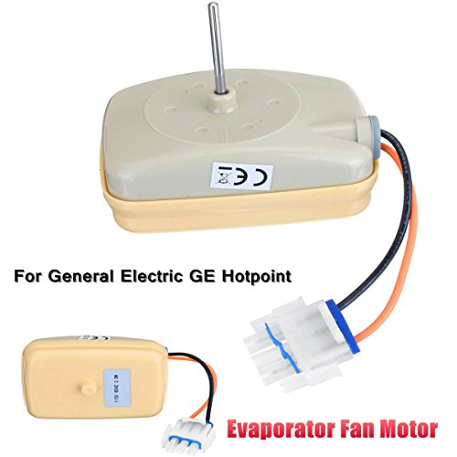MAYITOP Evaporator Fan Motor WR60X10141 WR60X10346 WR60X10045 WR60X10046 WR60X10072 WR60X10138 For General Electric, Sears, Kenmore, Hotpoint, RCA by MAYITOP
