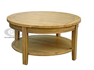 Oak Round Coffee Table Uk 5