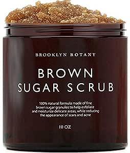 Amazon Com Brooklyn Botany Brown Sugar Body Scrub Great As