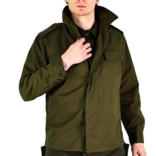 Original Vintage Czech Army Field Jacket M85 Olive Green Military Surplus Issue New (Medium ()