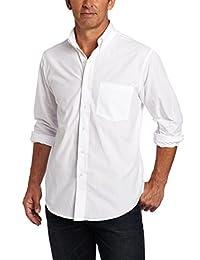 Izod Men's Long Sleeve Essential Solid Shirt