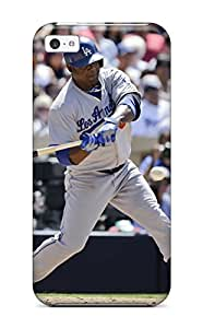 DanRobertse Perfect Tpu Case For Iphone 5c/ Anti-scratch Protector Case (los Angeles Dodgers )