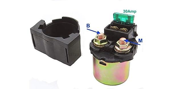 Amazon.com: Starter Relay Solenoid Interruptor para Kawasaki ...