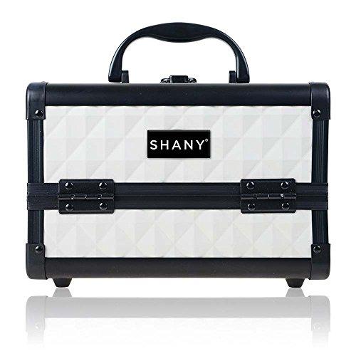 SHANY Mini Makeup Train Case With Mirror - Peacefu