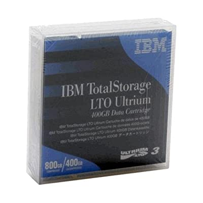 IBM TotalStorage LTO Ultrium 3 400/800GB Data Cartridge 5-Pack 24R1922-5PK by IBM