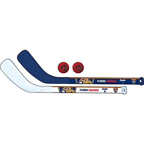 Franklin Sports NHL Florida Panthers Mini Hockey 2 Piece Player Stick Set ()