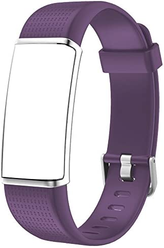 Willful Replacement Band Fitness Tracker with Color Screen 2018 Ver,SW352 Purple