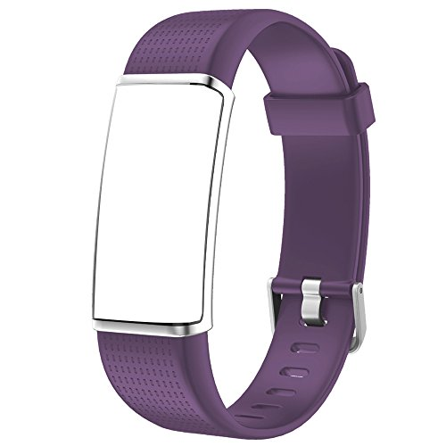 Willful Replacement Band Fitness Tracker with Color Screen(2018 Ver,SW352) (Purple)