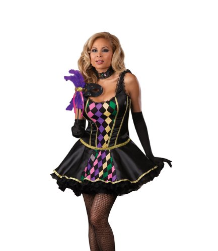 gras women Mardi costumes plus size