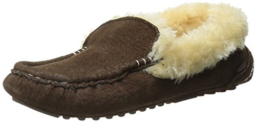Slip Loafer Moc Ausie Lamo Chocolate On Women's UpwAqA