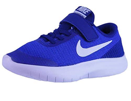 Nike Kids Flex Experience RN 7 (PS) Hyper Royal WHT DEEP Royal BLU, 1 Little Kid (Nike Shoes For Little Kids)