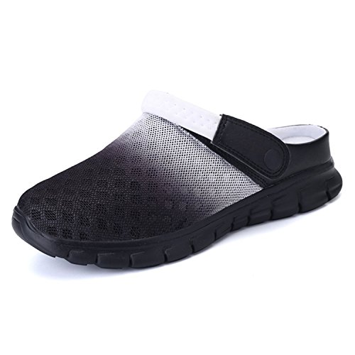 BARKOR Garden Shoes Mens Womens Clogs Summer Mesh Sandals Outdoor Unisex Water Shoes (Mesh Mens Sandals)