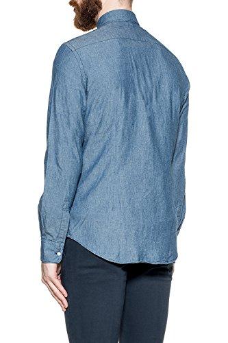 Aspesi Homme CE52E54201031 Bleu Coton Chemise