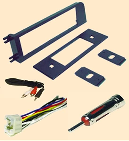 [SCHEMATICS_49CH]  Amazon.com: Volvo 240 Series 1990 1991 1992 1993 Upper Dash Relocation  Stereo Kit - Stereo wiring Harness, Dash Install Kit Faceplate, with FM  Antenna Adaptor (Combo Complete Aftermarket Stereo Wire and Installation  Kit): Car Electronics | 1992 Volvo 240 Radio Wiring |  | Amazon.com