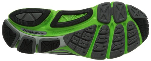 Saucony - Zapatillas de running para hombre Silver/Green/Black