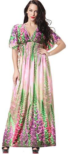 Jusfitsu-Womens-Boho-Long-Maxi-Dress-Bat-Sleeve-Sundress-Plus-Size-Dresses