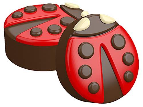 SpinningLeaf Ladybug Oreo Cookie Chocolate Candy Mold ()