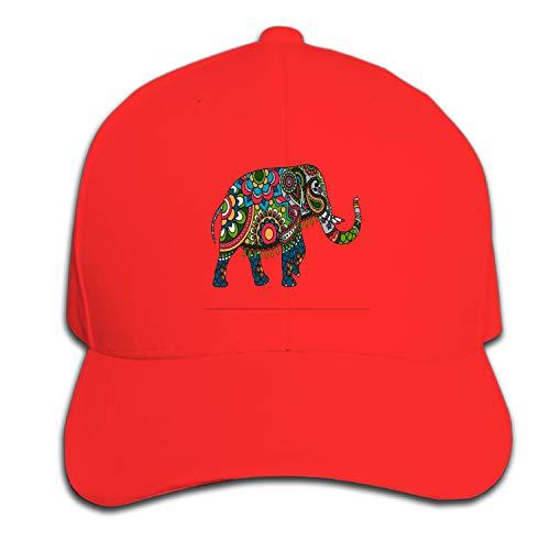 ROOMY Baseball Caps, Women Men Unisex Colored-Doodle Snapback Hats Baseball Caps ()