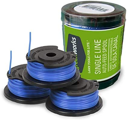 Greenworks Replacement Spools for Greenworks Cordless Trimmers 29252 - The Hassle-Free Replacement Trimmer Line