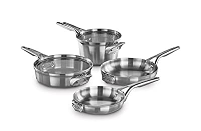 Calphalon Premier Space Saving Stainless Steel 6 Piece Set