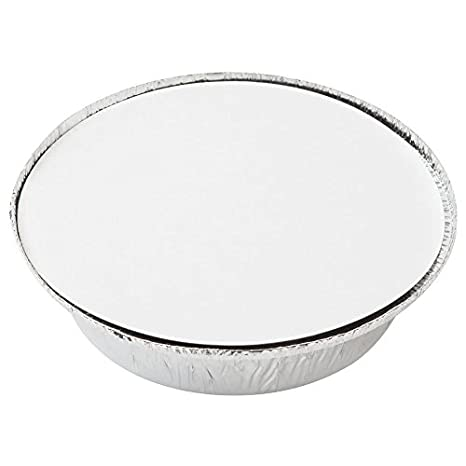 Amazon.com: Recipiente redondo de aluminio desechable de 0 ...