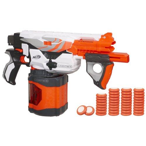 Nerf Vortex Pyragon Blaster (Disc Nerf Gun Vortex)
