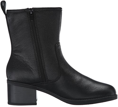 Clarks Womens Nevella Devon Boot Black Leather