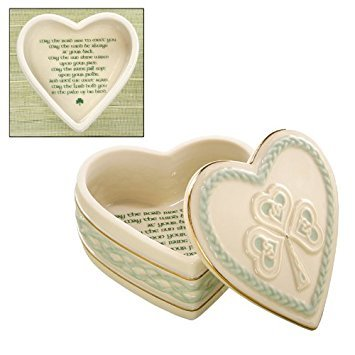 Irish Blessing Heart Keepsake Box by Lenox